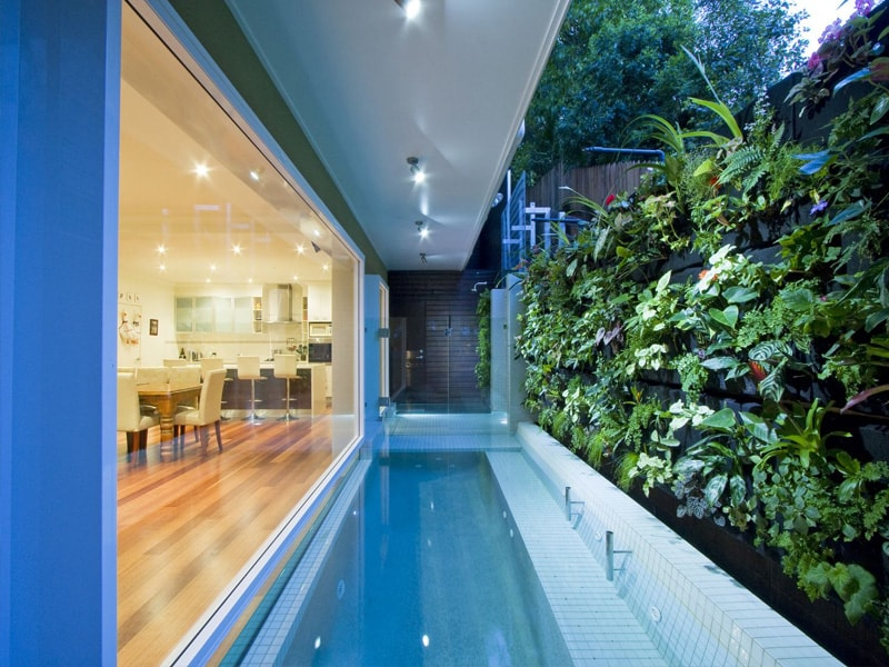 Pool on a slope or difficult sites rogers pools for Pool design brisbane